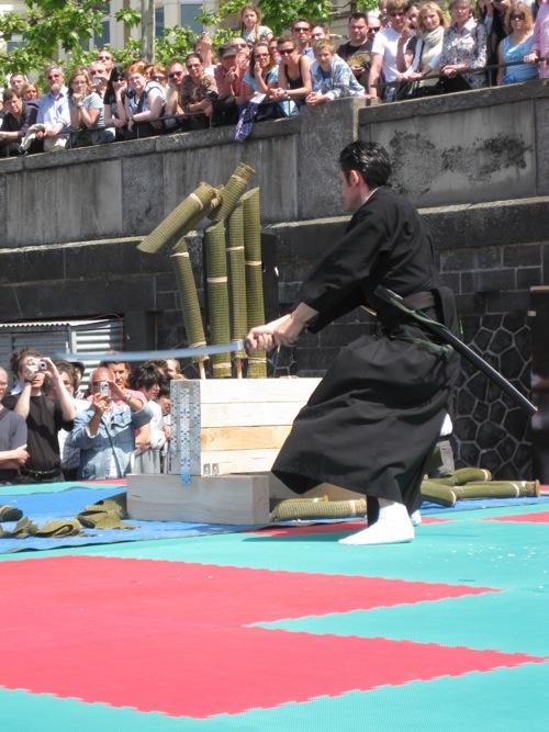 Tameshigiri Köln - Mugai Ryu Iaido & Kenjutsu